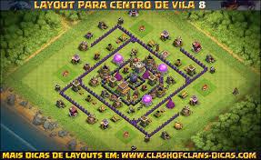 layout vila nivel 9 clash of clans layouts para centro de vila 8 com torre de bombas leyalts pinterest