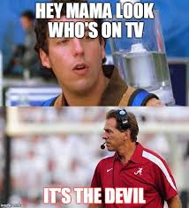 Nick Saban Memes - bobby and the devil imgflip