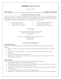 Sample Resume For Business by Sample Resume For New Cpa