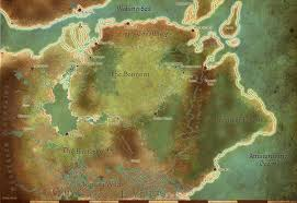 Dragon Age World Map by Tmm Ferelden Map Reference By Abadir On Deviantart