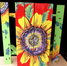 painted picnic table how pretty i love this this is for