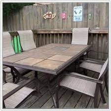 Tile Top Patio Table Tile Top Patio Table Ceramic Tile Coffee Table Outdoor Pit