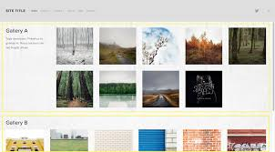 squarespace help momentum gallery pages