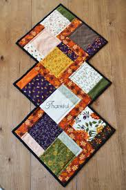 fall charm quilted table runner a free pattern joyous home