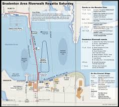 Map Formula Bradenton Area Riverwalk Regatta Schedule And Map