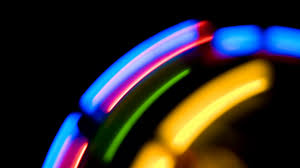 abstract motion backgrounds moving colorful lights on black