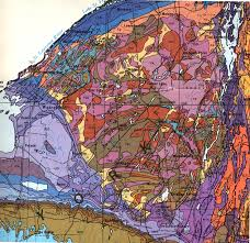 Geological Map Of Usa by Geology Of The Adirondacks Balmat Sandford Lake And Gore Mountain