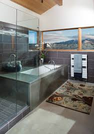 Wall To Wall Bathroom Rugs by Framed To Perfection 15 Bathrooms With Majestic Mountain Views