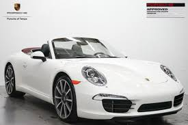 porsche 911 certified pre owned certified pre owned 2012 porsche 911 2dr cabriolet 991 s