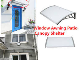 canopy awning porch sun shade shelter outdoor rain cover door