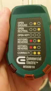 electrical my receptacle tester is giving confusing results