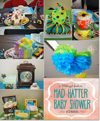 baby shower halloween theme a mad hatter themed baby shower