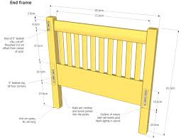 how to make a daybed frame frame daybed frame plans