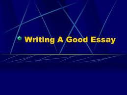 Essay writing power point