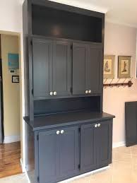 milk paint colors for kitchen cabinets cabinet in queenstown gray milk paint milk paint cabinet