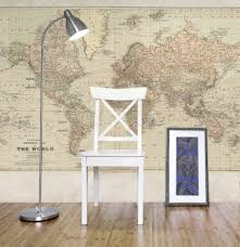 vintage world map mural walls republic m9172 rm04