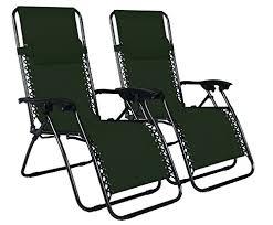 odaof adjustable infinity set of 2 outdoor zero gravity chairs