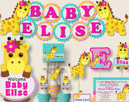 rubber duck baby shower or first birthday party decorations