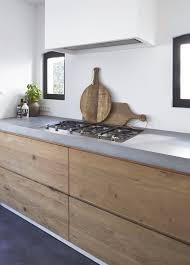 kitchen by molitli country minimalist with grey counters wood