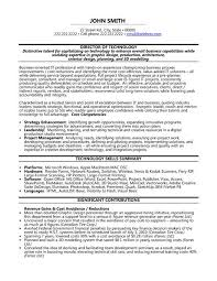 Best Executive Resume Examples Information Technology Resume Template Ceo Technology Resume