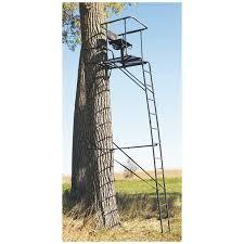 big infinity 16 ladder tree stand 229430 ladder tree