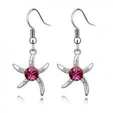 karikagyuru rak rozsaszin kristalyos tengeri csillag fulbevalo kristalyos fulbevalo jpg