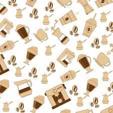 coffee theme wallpaper icon u2014 stock vector jemastock 116317068