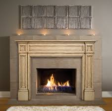decor appealing fireplace surround kits with mantle for elegant