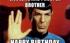 Star Trek Meme Generator - happy birthday christina audrey hepburn meme generator