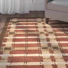 Rug Tiles Martha Stewart Martha Stewart Rugs Colorweave Plaid Hand Tufted Rust Area Rug