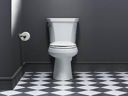 Kohler Cimarron Elongated Comfort Height Toilet Kohler K 3999 Highline Comfort Height Elongated 1 28 Gpf Toilet