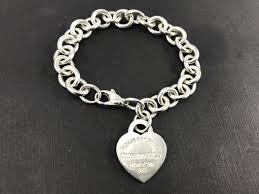 tiffany heart bracelet sterling silver images Tiffany co sterling silver return to tiffany heart tag bracelet jpg