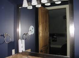 4 bathroom mirror frames kits mirror above fireplace home design