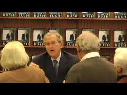 Barnes Noble Houston Texas George W Bush Decision Points Book Signing At Barnes U0026 Noble In