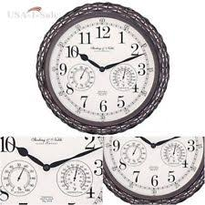 outdoor garden clock ebay