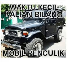 Meme Mobil - mobil penculik png
