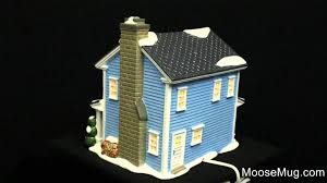 department 56 vacation snow todd margo s house