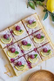 lovely little kitchen mother s day sweet and tangy lemon bars with fresh raspberries and