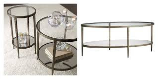 glass coffee table with glass shelf save or splurge brass and glass coffee tables