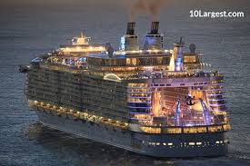cruise ship the world 3 largest cruise ships in the world with pictures