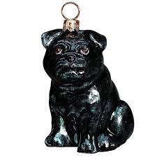 pug jtw ornament