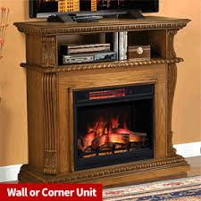 Corner Electric Fireplace Classicflame Tv And Media Consoles Electricfireplacescanada Ca