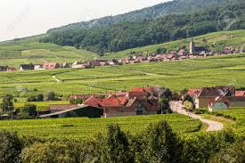 panoramic view from itterswiller bas rhin alsace france in