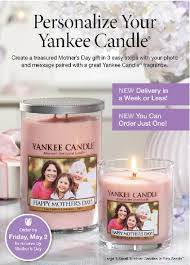 personalize candles frugal fort wayne yankee candle personalized candles for mothers day