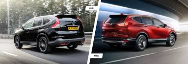 honda cr 2017 honda cr v old vs new compared carwow