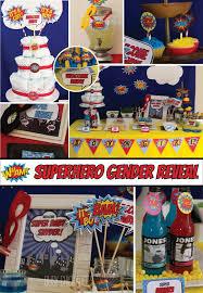 Batman Baby Shower Decorations 43 Best Gender Reveal Party Ideas Images On Pinterest Gender