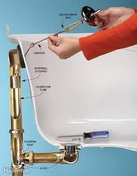 how to fix bathtub drain stopper bathtub drain bathtub drains