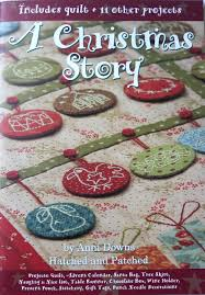 anni downs a christmas story quilt pattern by redneedlequilts