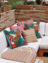 Home Decor Cushions Outdoor Home Decor Ideas Bright Color Schemes Colorful Cushions