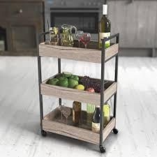 Bathroom Storage Carts Roomfitters 3 Tier Rolling Utility Storage Cart